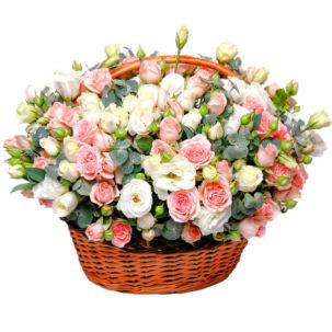 "Цветы в корзинке ""Интрига"""